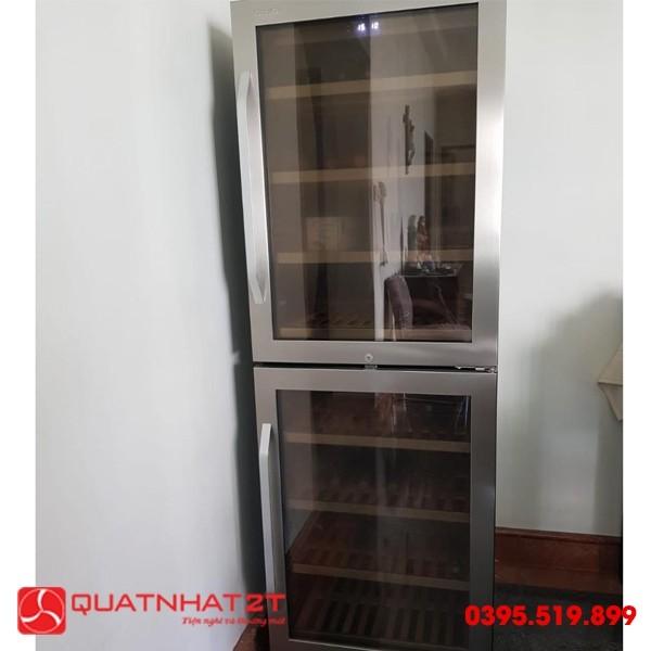Tủ ướp rượu Kadeka KA165T, 151 Chai-3