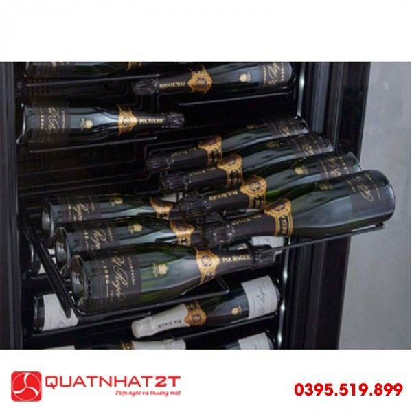 Tủ ướp rượu Kadeka KS140TL, 143 chai-2