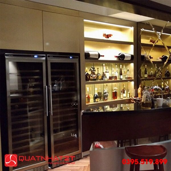 Tủ ướp rượu Kadeka KSJ168EW, 165 chai-3